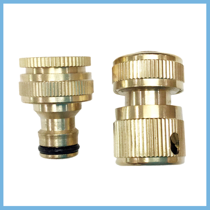 Copper connector for medical equipment EECP machine